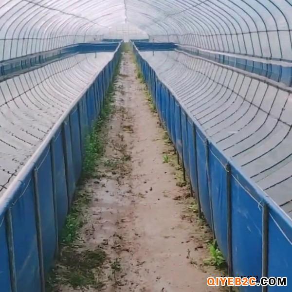 农业大棚水产养殖专用帆布水袋、帆布鱼池定做