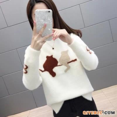 清仓服装大版女装毛衣品牌原单