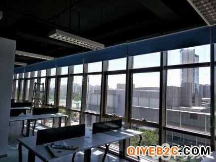 三元桥遮光窗帘定做办公卷帘 三元桥电动窗帘餐厅纱帘