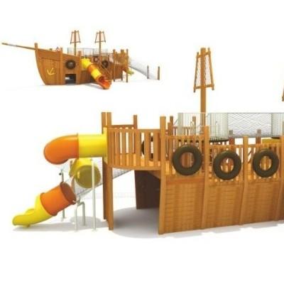 幼儿园建构区户外碳化积木 山东菏泽可凡碳化积木批发