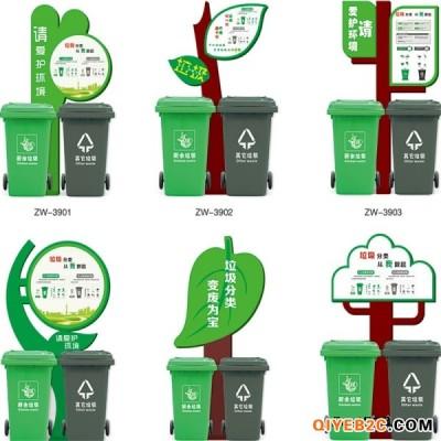 户外垃圾分类亭垃圾收集亭不锈钢小区垃圾回收房垃圾分