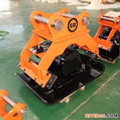 夯实器生产厂家 挖掘机改装液压夯实器 平板振动夯
