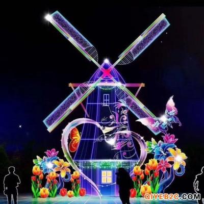 河南展览设计大型互动灯光节出租