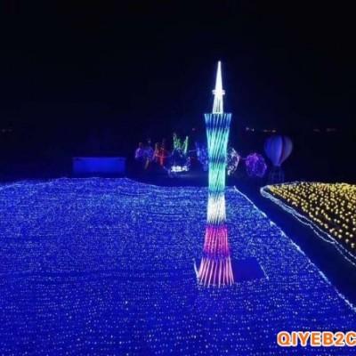 河南大型制作定制造型灯光节出租