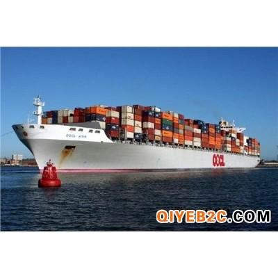 酒店用品从东莞海运到澳大利亚墨尔本具体的费用和手续