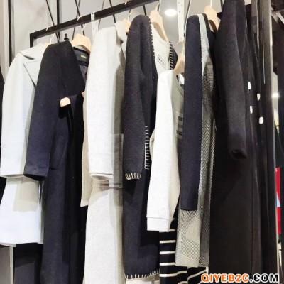 财易品牌折扣女装2019年新款秋装设计师原创欧式力