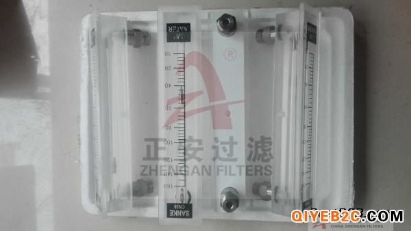 GN38B面板转子流量计,有机玻璃流量计-正安过滤