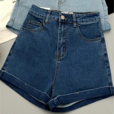 女式中腰牛仔裤低价批发破洞牛仔长裤几元低价地摊甩卖