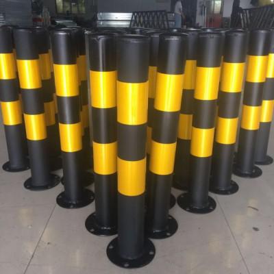 江门厂家定制钢管警示柱加厚反光防撞路桩坚固耐用