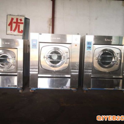 唐山处理整套二手水洗厂设备二手五棍百强烫平机折叠机