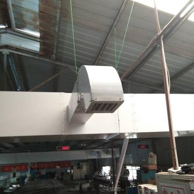 安徽设计橡胶厂密炼车间降温方案