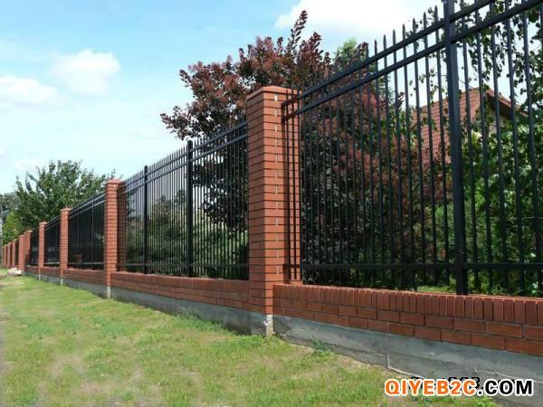 清远市锌钢围墙护栏生产厂家专业生产小区护栏