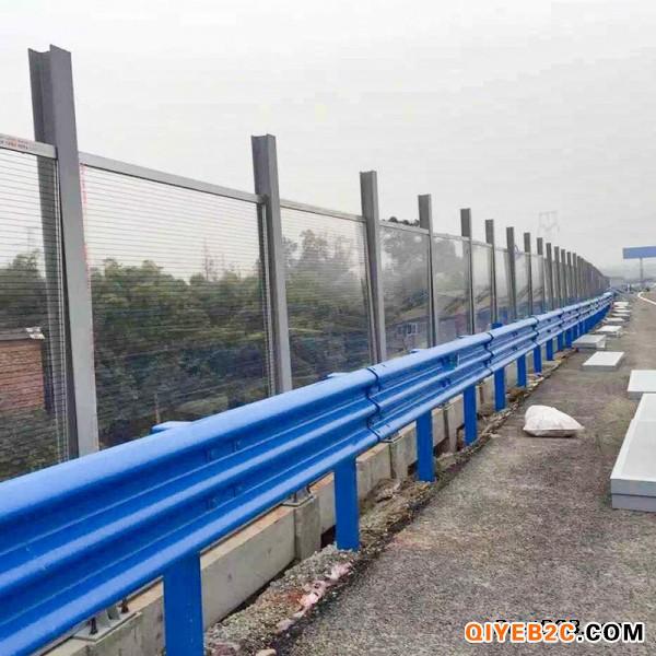 湖南岳阳市环氧锌基三波高速护栏