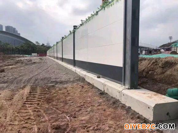 广州市公路边施工用钢结构围挡隔离防尘
