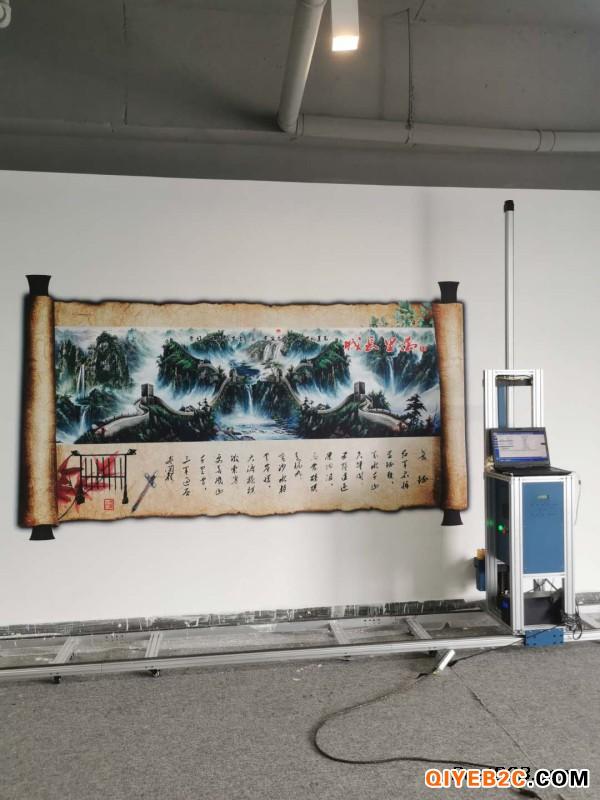 东莞市江榕智能3d墙体彩绘机墙体喷绘机绘画机