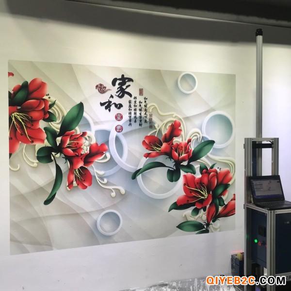 东莞市江榕3d立体广告壁画打印机墙体喷绘机彩印