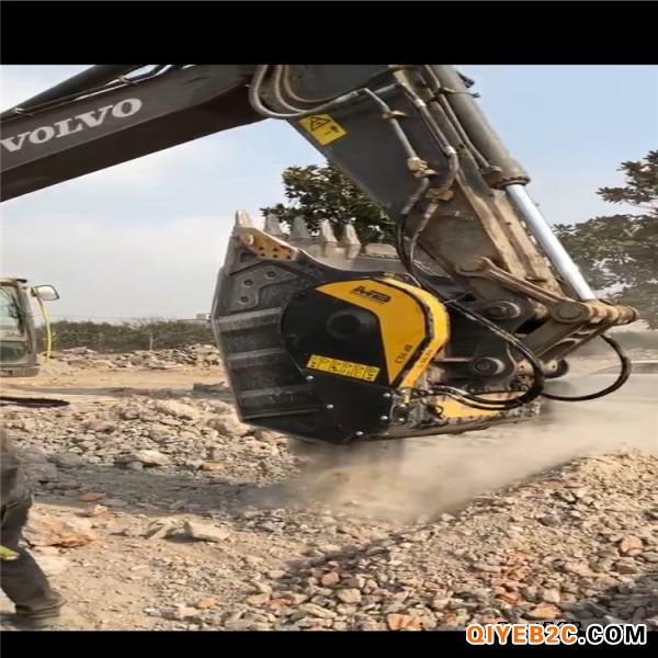 商家直销 坚固耐用的挖掘机破碎斗 多种物料粉碎斗