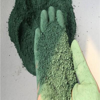 郑州恒威供应优质金刚砂耐磨地坪材料绿色 包工包料