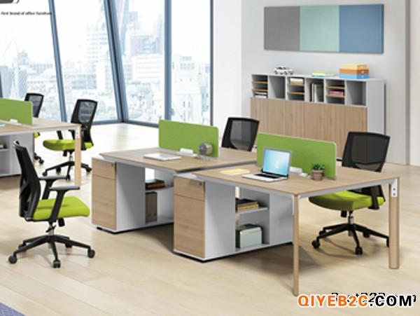 广州盛源办公家具清新简约职员办公桌支持定制款式多样