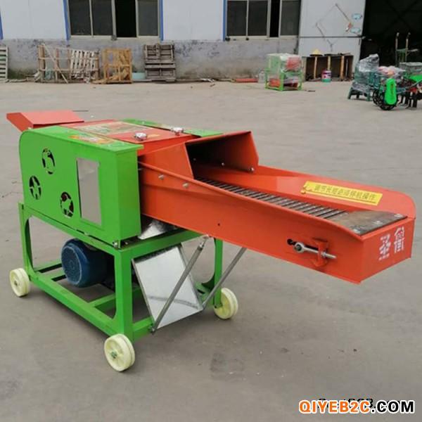 新款3.8吨卧式铡草粉碎揉丝机