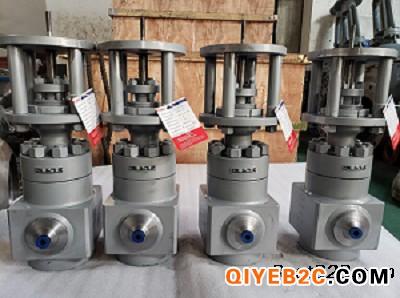 供应高压截止阀QJT200-10 DN10