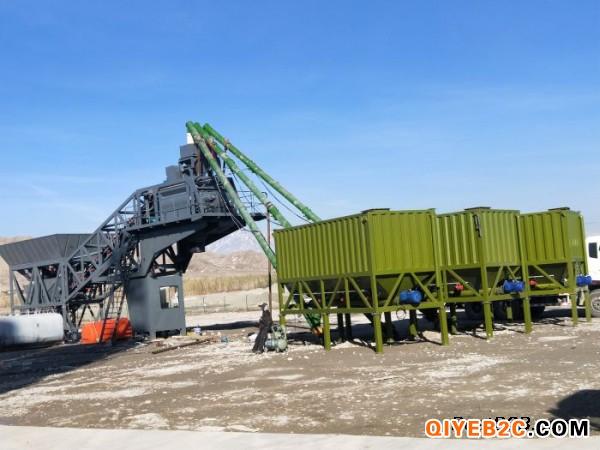 新鸿达建砼YHZS90移动式混凝土搅拌站