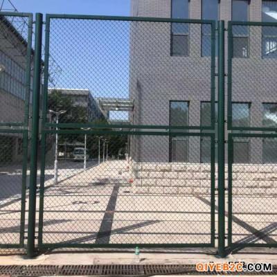 兴友 体育场护栏网 定制墨绿色勾花网