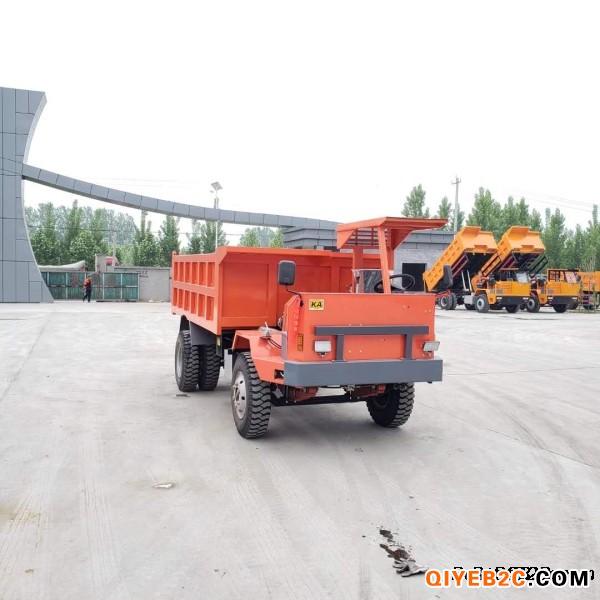 供应UQ-5吨拉土方的矿用后八轮运输车