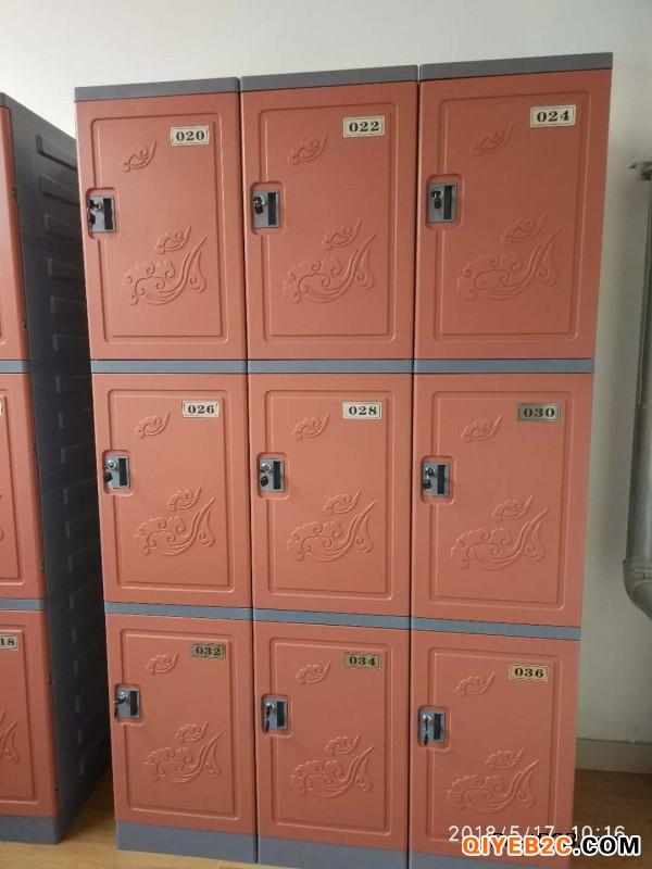 广东深圳易安格610温泉浴室塑料储物柜更衣柜招商