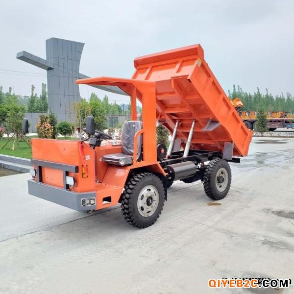 供应UQ-5吨拉土方的矿山四轮工程车