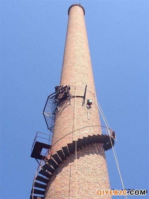 兰州砖烟筒安装转梯公司