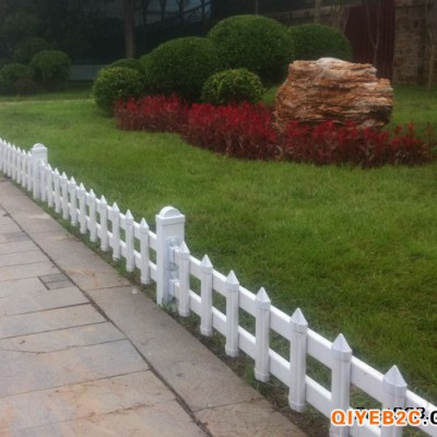 西安工厂直供草坪护栏PVC护栏围墙护栏锌钢护栏