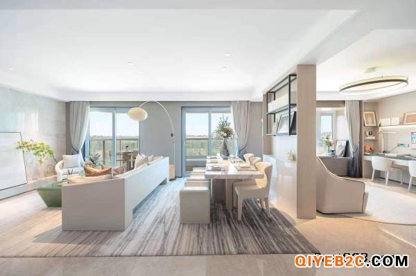 上海嘉定区万科莱茵半岛售楼处户型