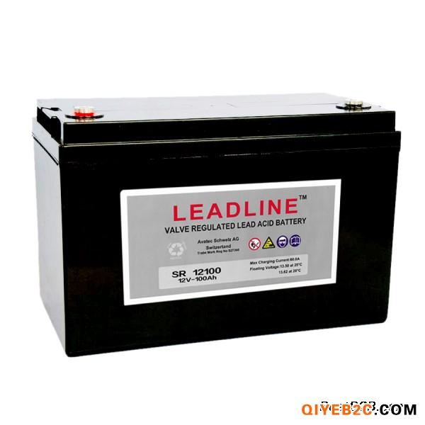 瑞士LEADLINE蓄电池EVR12100工厂自销
