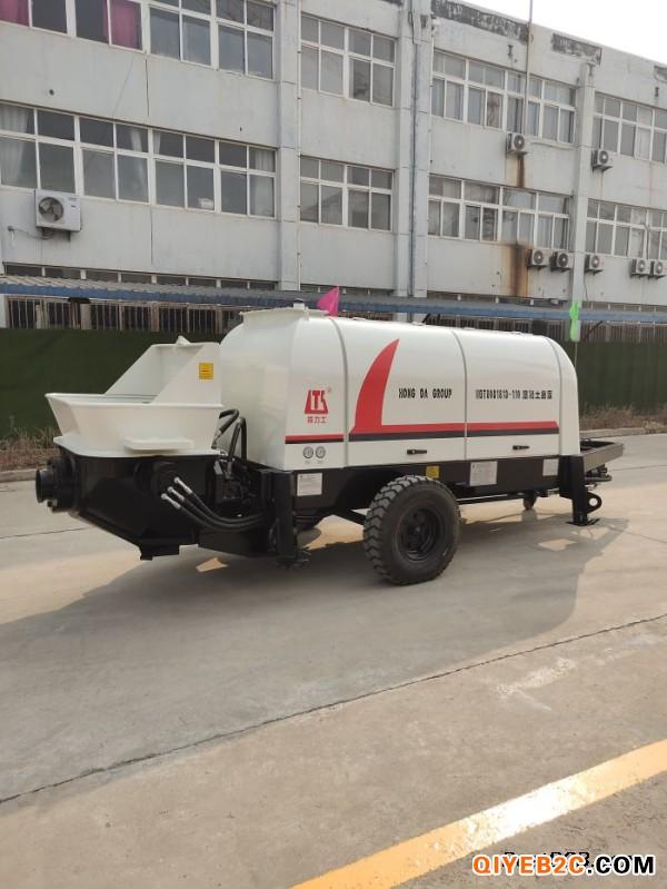 鸿达投建HBTS系列混凝土地泵