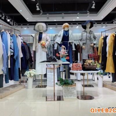 深圳高端设计师品牌隆缘裳21春款女装直播一手货源供