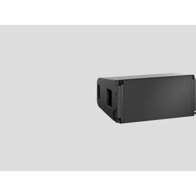 Dante有源线阵双10线阵音箱大型场馆音响系统