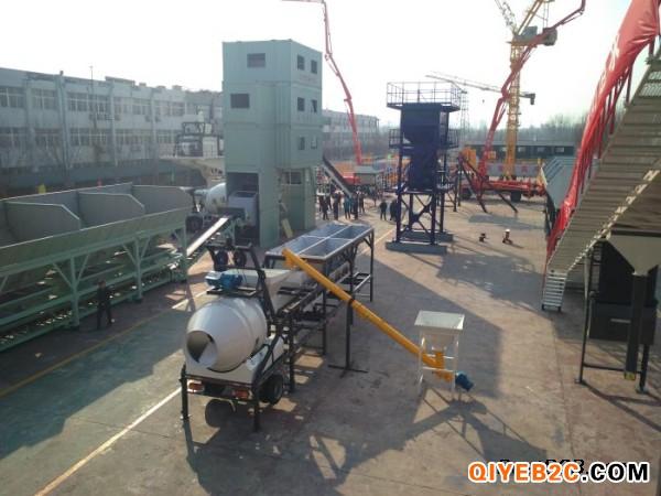 鸿达砼建YHZM25快搬式移动搅拌站