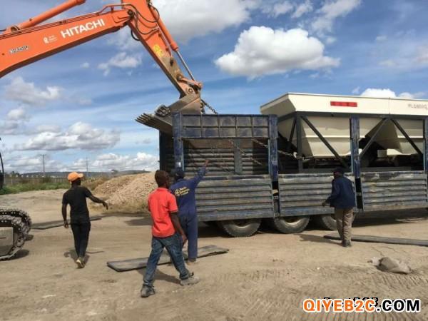 新筑鸿达HZS40型水泥混凝土搅拌站