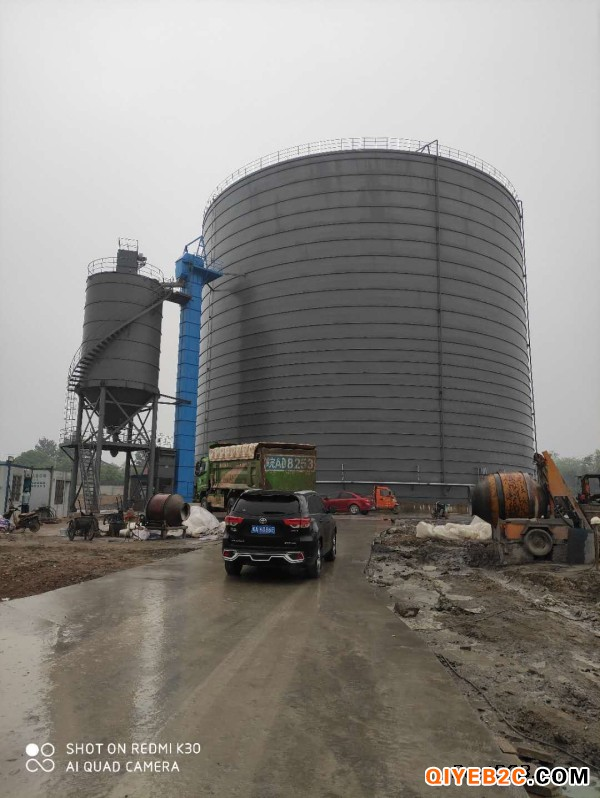 吉林市粉态物料储存罐 大型钢板库制作商
