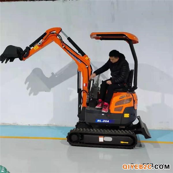 20小型挖掘机适用果园大棚360度旋转挖掘大臂侧摆