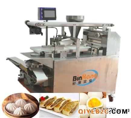 上海彬康包子生产线 卷面式包子机