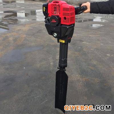 铲式汽油断根挖树机 链条挖树机型号