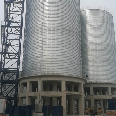 大型钢板仓 高架螺旋卷板仓常见问题