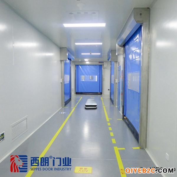 上海可定制出口保温拉链快速门
