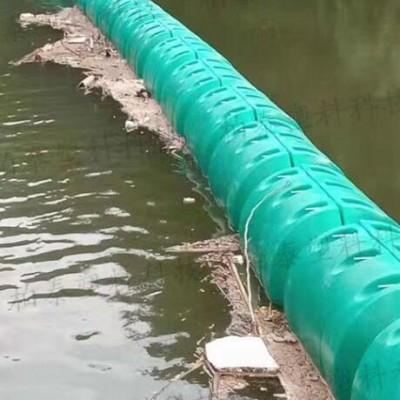 港口漂浮垃圾拦截浮筒 拦截河道水面漂浮垃圾浮排