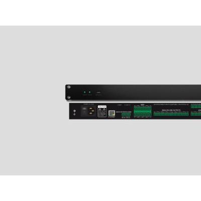 Dante网络音频管理器16进8出声学功放系统