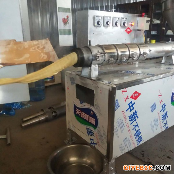 一步成型蛋白肉机天诚制造