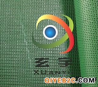 浙江工厂生产订制PVC塑胶网格布 浸塑胶网 防风防