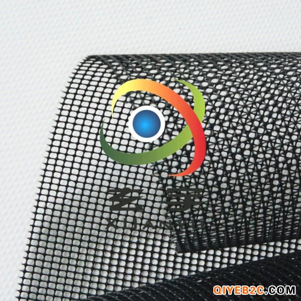 江工厂供应1.4米宽度黑白箱包隔层网布 PVC涂塑